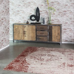 vloerkleed_karpet feelgood wine red